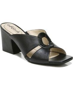 ライフストライド レディース サンダル シューズ Thrill City Sandals Black Faux Leather