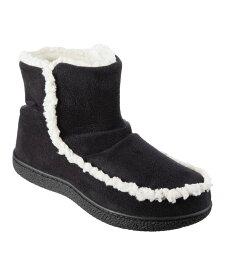 アイソトナー レディース サンダル シューズ Isotoner Microsuede Alex Boot with 360 Surround Memory Foam Slippers Online Only Black