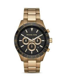 マイケルコース メンズ 腕時計 アクセサリー Layton Chronograph 45mm Black/Gold