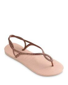 ハワイアナス レディース サンダル シューズ Women's Luna Premium Glitter Slingback Flip-Flops Ballet Rose