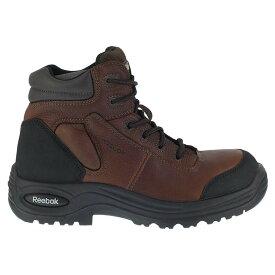リーボック メンズ ブーツ・レインブーツ シューズ Trainex 6 Inch Composite Toe ESD Boots Brown
