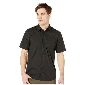 ボルコム メンズ シャツ トップス Everett Solid Short Sleeve Black