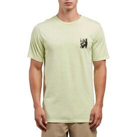 ボルコム メンズ Tシャツ トップス Volcom Lifer T-Shirt Green Mist