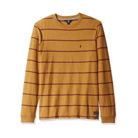 ボルコム メンズ Tシャツ トップス Volcom Randal Long Sleeve T-Shirt Old Gold