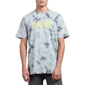 ボルコム メンズ Tシャツ トップス Volcom Logo Graphic T-Shirt Grey