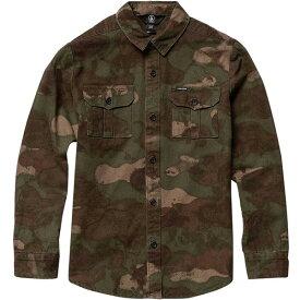 ボルコム メンズ シャツ トップス Huckster Shirt Army