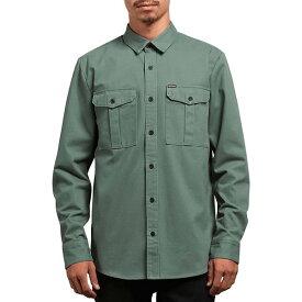 ボルコム メンズ シャツ トップス Huckster Shirt Pine