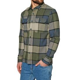 ボルコム メンズ シャツ トップス Randower Flannel Shirt Military