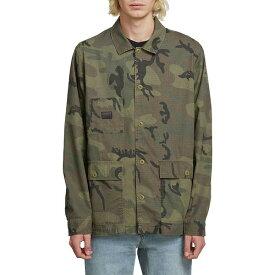 ボルコム メンズ ジャケット・ブルゾン アウター Badden Jacket Camouflage