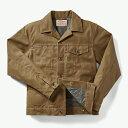 フィルソン メンズ ジャケット・ブルゾン アウター Filson Men's Short Lined Cruiser Jacket Dark Tan
