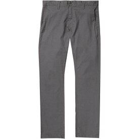 ボルコム メンズ カジュアルパンツ ボトムス Frickin Modern Stretch Chino Pant Charcoal