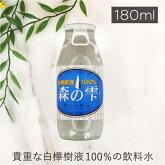森の雫白樺樹液100%ウォーター※返品・交換不可