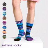 《メール便可3足まで》solmatesocksソルメイトソックスクルーソックスLEGENDSCrewsocks靴下アシンメトリ—ソックス