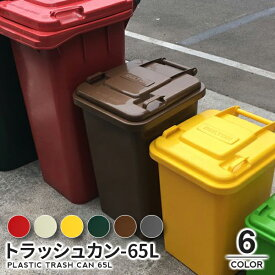 【10%OFF!7/26 1:59まで】トラッシュカン-65L【PLASTIC TRASH CAN 65L】 ダストボックス インテリア 雑貨 DULTON ダルトン