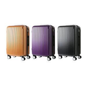 スーツケース SIS UNITED マット加工 8輪キャスタ 軽量 M 50L [中型Mサイズ][4泊〜7泊]/ 【送料無料】/###ケースYP110W-M###