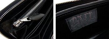 【BWLビルウォールレザー】ウォレットW948/Zipper/Elephant(Yen)(WalletHole=Wave)