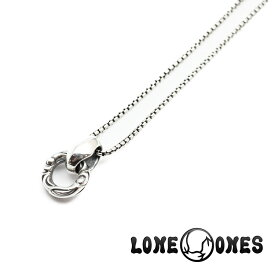 【LONE ONES/ロンワンズ】ペンダント/ MFP-0008-BOX:Cygnet Ring Venetian Box Chain (S)18inch (約45cm)★REALDEAL