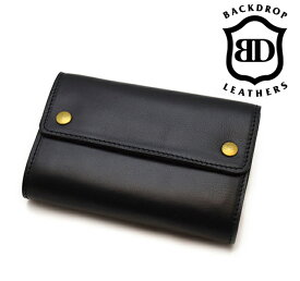 【BACK DROP バックドロップ】ショートウォレット/MIDDLE BILL WALLET(Short)★REAL DEAL