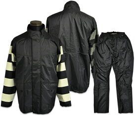 "【Vin&Age ヴィンアンドエイジ】レインスーツ/TFR-1401 PRISON RAIN SUIT ""BORDER SLEEVE"" !REAL DEAL"