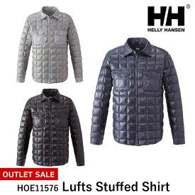 メンズ ダウンジャケット ヘリーハンセン ルフススタッフドシャツ HOE11576 Lufts Stuffed Shirt HELLY HANSEN spp 777sale