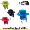 ノースフェイス キッズ 子供用 帽子 Kids' Sunshield Hat NNJ01701 サンシールドハット 遠足・通園 THE NORTH FACE 【...