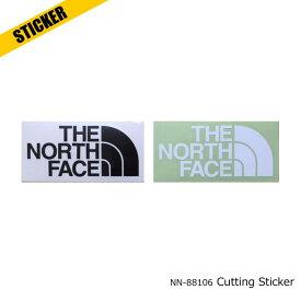 ノースフェイス カッティング ステッカー ブランドロゴ シール NN88106 TNF CUTTING STICKER 全2色 The North Face [111][6356]