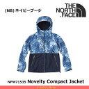 ノースフェイス レディース ノベルティコンパクトジャケット NPW71535 NV Compact Jacket カラー:(NB)ネイビーブーケ THE NOR...
