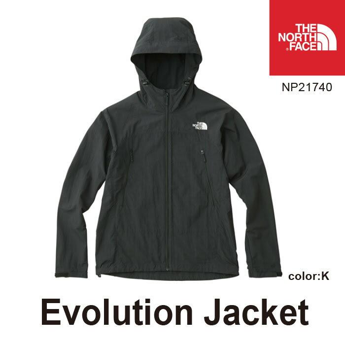 ノースフェイス メンズ エボリューションジャケット NP21740 Evolution Jacket カラー:(K)ブラック THE NORTH FACE [11117fw][66702]