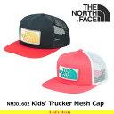 ノースフェイス キッズ 子供用 帽子 K TruckerMesh Cap NNJ01602 カラー2色 キッズトラッカーメッシュキャップ 遠足・通園 THE N...