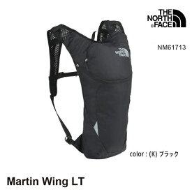 ノースフェイス バッグ ランニング用パック マーティンウィング NM61713 Martin Wing LT カラー(K)ブラック ランニング The North Face [11120ss][3607]