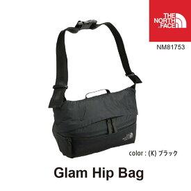 ウェストバッグ ノースフェイス グラム ヒップバッグ NM81753 Glam Hip Bag カラー:(K)ブラック The North Face [11120ss][0406]