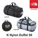 ノースフェイス キッズ 子供用 バック ナイロンダッフル50 K Nylon Duffel 50 NMJ81600【2017ss】