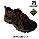 サロモン ハイキングシューズ エバージョン ゴアテックス EVASION GTX トレッキング L376905 カラー:Black/Burro SALO…