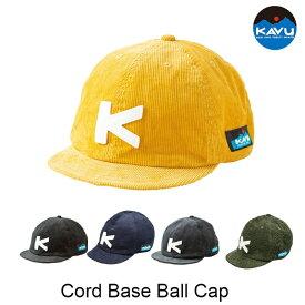 ベースボールキャップ コーデュロイ KAVU 帽子 Cord Base Ball Cap #19820936 カブ カブー [22019fw][2553]