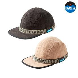 フリースストラップキャップ KAVU 帽子 Fleece Strap Cap #19821114 カブ カブー [22019fw][2553]