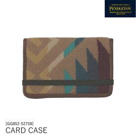 ペンドルトン PENDLETON カードケース 名刺入れ コヨーテビュートカーキ XZ752 [2553][610sale]