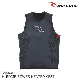 ウェットスーツ インナー H-BOMB POWER HEATED VEST 電力加熱型ヒートベスト V30-900 メンズ サーフィン リップカール RIP CURL