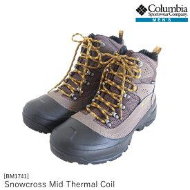 メンズ スノーブーツ BM1741 Snowcross Mid Thermal Coil スノークロスミッドサーマルコイル Columbia コロンビア [222sale][dssale]