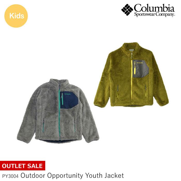 コロンビア キッズ フリース ジャケット Columbia 子供用 PY3004 OUTDOOR OPPORTUNITY YOUTH JACKET spp 222sale 54302