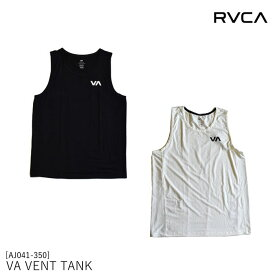メンズ タンクトップ VA SPORT AJ041-350 VA VENT TANK TOP RVCA ルーカ ルカ トレーニングウェア [88819ss][2553][sms]