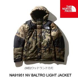 ノースフェイス ダウンジャケット ND91951 Novelty Baltro Light Jacket (WD)ウッドランドカモ ノベルティーバルトロライトジャケット The North Face [11120fw]