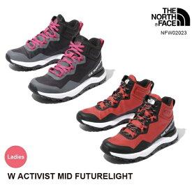 ノースフェイス レディース シューズ 軽量防水 NFW02023 W Activist Mid FUTURELIGHT ファストパッキング The North Face [111outlet]