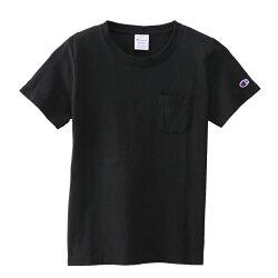 チャンピオンTシャツレディース無地チャンピオンtシャツ袖1ポイントトップスホワイト雑誌でも注目のチャンピオンサイズML☆☆☆.