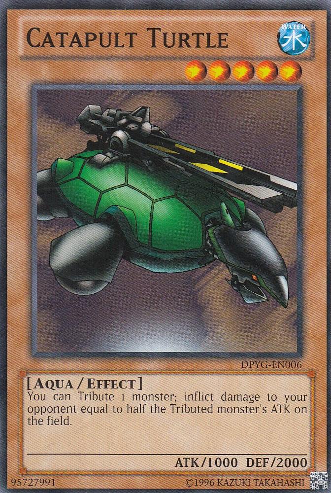 遊戯王 DPYG-EN006 カタパルト・タートル Catapult Turtle(英語版 Unlimited ノーマル)【新品】
