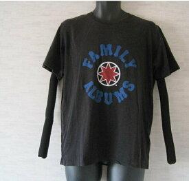 GDC コラボUT UNIQLO【ユニクロ】 Tシャツ ロゴ 英字 プリント クルーネック 半袖 XL 黒 メンズ【中古】