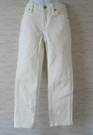 ANAYI【アナイ】ホワイトデニム クロップドパンツ34【中古】