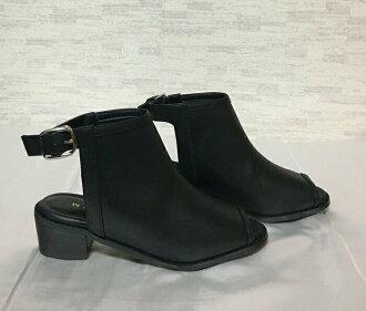 LEPSIM LOWRYS FARM戰利品涼鞋黑M(23cm)