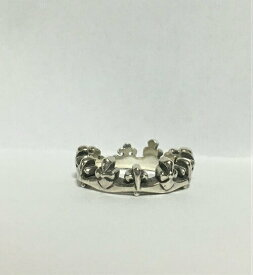 Libra【リブラ】クラウンデザインリング指輪シルバー18.5号シンプル【中古】
