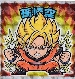 【Z-01:孫悟空 (超サイヤ人 初覚醒時)】 ビックリマンチョコ ドラゴンボールマンチョコZ