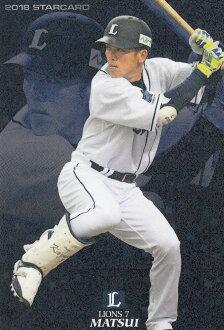 卡樂比職業棒球Tips 2018第2彈S-28松井稼頭央(西武)明星卡